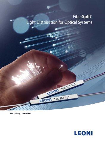 FiberSplit®   Light Distribution for Optical Systems