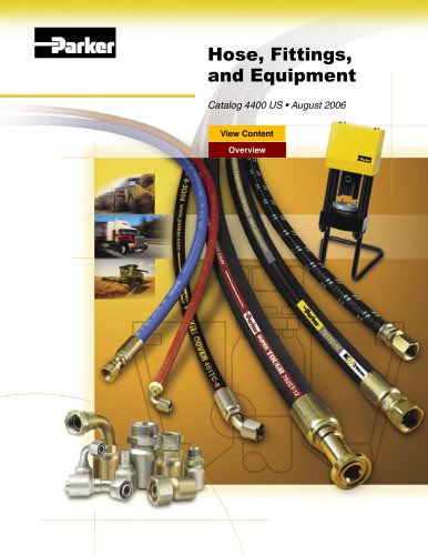 Hose, Fittings, Accessories, and Equipment