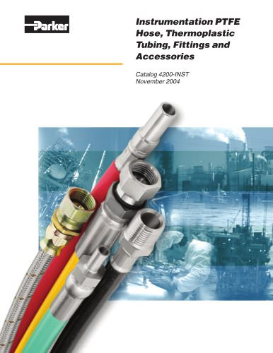 Instrumentation PTFE Hose, Thermoplastic Tubing, Fittings & Accessories