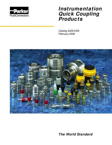 Instrumentation Quick Coupling Products