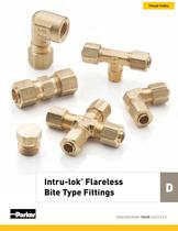 Intru-lok® Flareless Bite Type Fittings