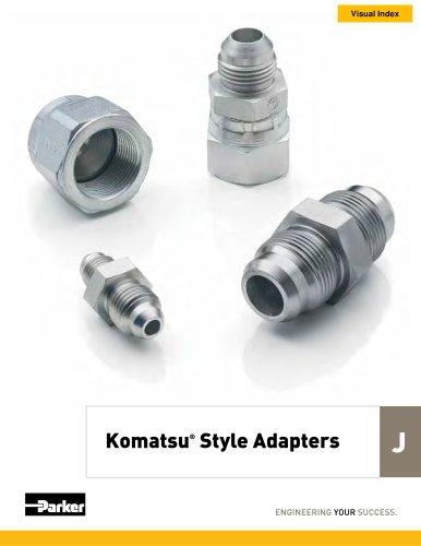 Komatsu® Style Adapters