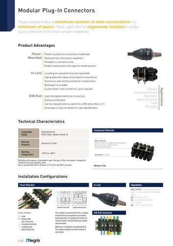 Modular Plug-In Connectors