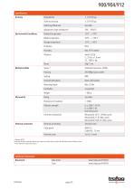 Data Sheet 900/904/912 - 3