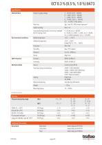 Data Sheet ECT 0.3 % (0.5 %, 1.0 %) 8473 - 4