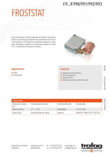 Data Sheet F/F...R 990/991/992/993