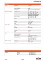 Data Sheet I/IS 404/414 - 4