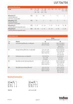 Data Sheet L/LF 736/754 - 5