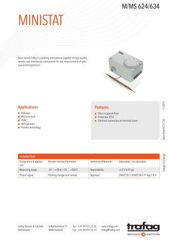 Data Sheet M/MS 624/634