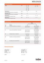 Data Sheet MSK 624/634 - 5