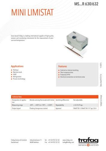 Data Sheet MS...R 630/632