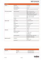 Data Sheet MST 624/634 - 4