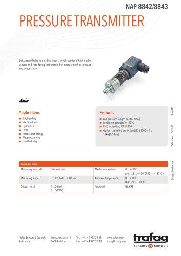 Data Sheet NAP 8842/8843