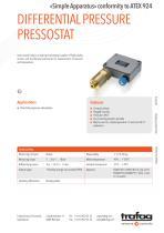 Data Sheet «Simple Apparatus» conformity to ATEX 924 - 1