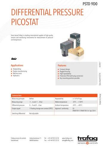 Differential Pressure Picostat PSTD 9D0