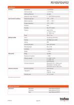 DIFFERENTIAL PRESSURE PRESSOSTAT PD 920/924/932 - 4