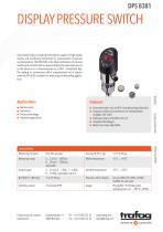 DISPLAY PRESSURE SWITCH DPS 8381 - 1