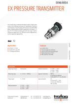 Ex Pressure Transmitter EXNA 8854 - 1