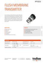 Flush Membrane Transmitter - 1