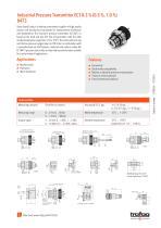 Flyer ECT 0.3 % (0.5 %, 1.0 %) 8473 - 2
