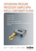 Flyer «Simple Apparatus» conformity to ATEX 924 - 1