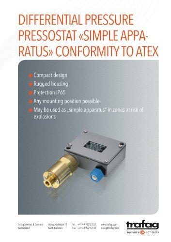 Flyer «Simple Apparatus» conformity to ATEX 924