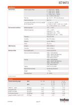 INDUSTRIAL PRESSURE TRANSMITTER ECT 8473 - 5