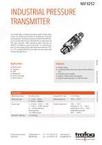 Industrial pressure transmitter NAT 8252 - 1