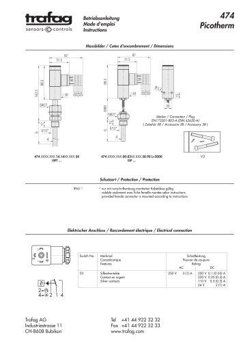 Instruction ISP/ISPT 474