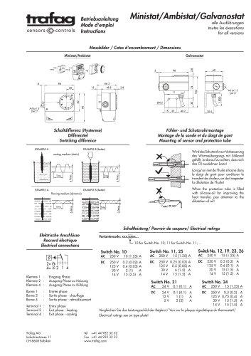 Instruction MSK 624/634