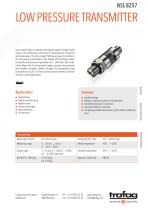 LOW PRESSURE TRANSMITTER NSL 8257 - 1