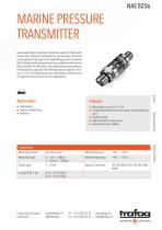 MARINE PRESSURE TRANSMITTER NAE 8256 - 1