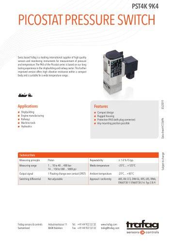 Picostat Pressure Switch PST4K 9K4