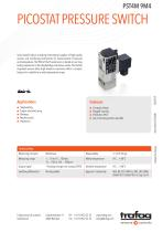 Picostat Pressure Switch PST4M 9M4