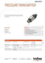 PRESSURE TRANSMITTER NAH 8253 - 1
