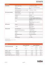 RAILWAY PRESSURE TRANSMITTER ECR 8478 - 4