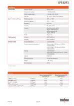 RAILWAY PRESSURE TRANSMITTER EPR 8293 - 3
