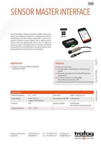Sensor Master Interface