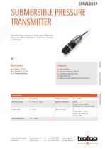 SUBMERSIBLE PRESSURE TRANSMITTER EXNAL 8859 - 1