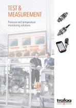 Test & measurement - Pressure and temperature monitoring solutions - 1