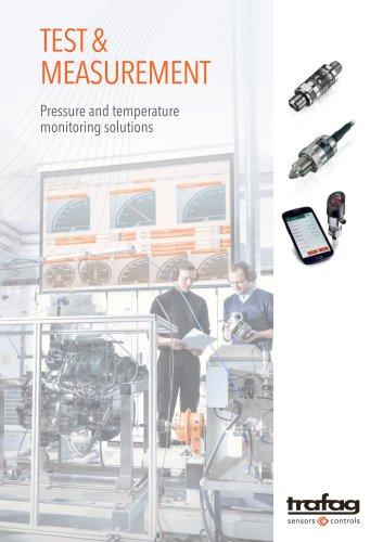 Test & measurement - Pressure and temperature monitoring solutions