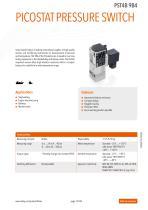 Trafag | Pressostats / Mechanical pressure switches - 12