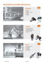 Trafag | Pressostats / Mechanical pressure switches - 6