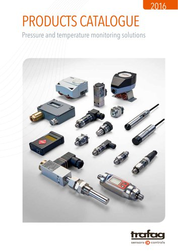 Trafag Products Catalogue 2016