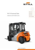 Diesel and LP Gas forklift truck RX 70 4,0 - 5,0 t