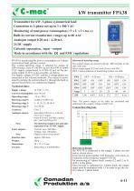 FPA38, kW transmitter, symmetrical - 1