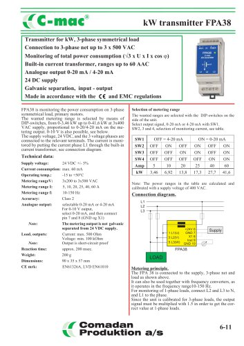 FPA38, kW transmitter, symmetrical