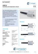 HSR16 Humidity and temperature sensor - 1
