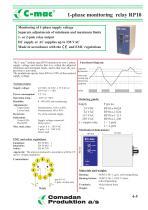 RP10, 1-phase monitoring - 1
