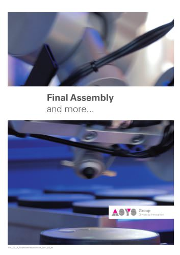 AAC - Assembly Cell